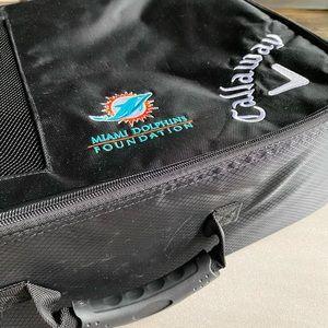 Miami Dolphins / Callaway / Golf Tote / Dufflebag